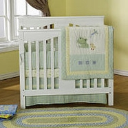 DaVinci Annabelle Mini Crib in White