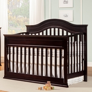 DaVinci Brook Convertible Crib in Dark Java