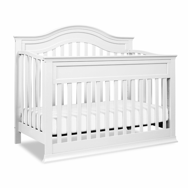 Davinci Brook 4 In 1 Convertible Crib With Toddler Rail In White