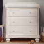 DaVinci Clover 3-Drawer Changer Dresser in White