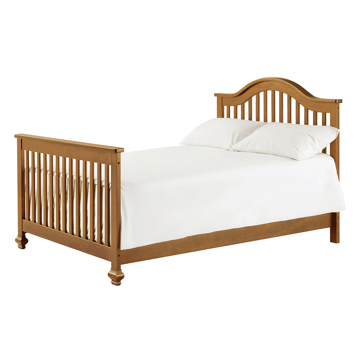 Convertible crib toddler bed - Davinci Clover 4 In 1 Convertible Crib With Toddler Bed Conversion Kit In Chestnut Free Shipping