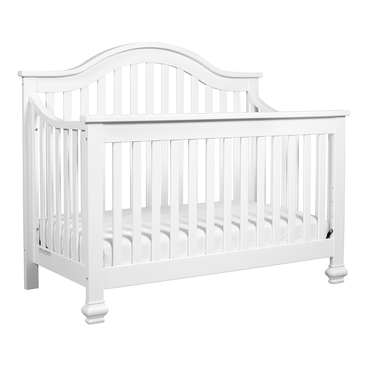 Davinci Clover 4 In 1 Convertible Crib With Toddler Bed Conversion Kit In White Free Shipping