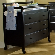 DaVinci Emily 3 Drawer Changer in Ebony