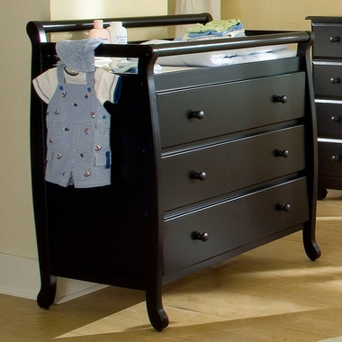 DaVinci Emily 3 Drawer Changer in Ebony - Click to enlarge