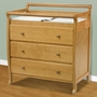 DaVinci Emily 3 Drawer Changer in Honey Oak