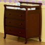 DaVinci Emily 3 Drawer Dresser/Changer in Cherry