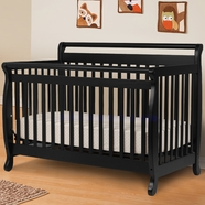 DaVinci Emily 4 in 1 Convertible Crib in Ebony