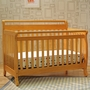 DaVinci Emily 4 in 1 Convertible Crib in Honey Oak