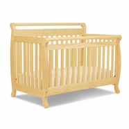 light wood cribs