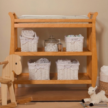 DaVinci Emily Changing Table In Honey Oak   Click To Enlarge