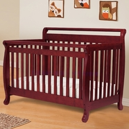 DaVinci Emily Convertible Crib in Cherry