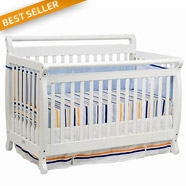 DaVinci Emily Convertible Crib in White