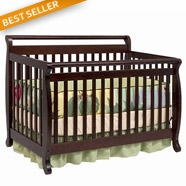 DaVinci Emily Convertible Crib Sets in Espresso