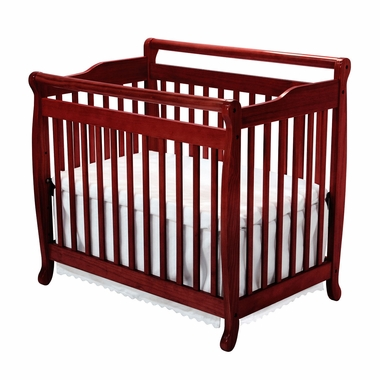 DaVinci Emily Mini 2 in 1 Convertible Crib in Cherry - Click to enlarge