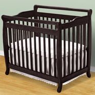 DaVinci Emily Mini Crib in Ebony