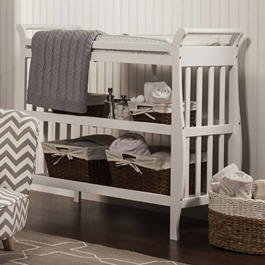 Good DaVinci Emily Sleigh Changing Table In White   Click To Enlarge