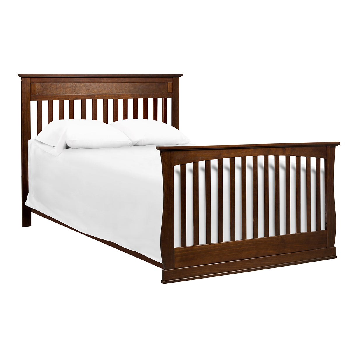 DaVinci Glenn 4 In 1 Convertible Crib With Toddler Bed Conversion Kit Espresso FREE SHIPPING