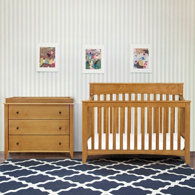 Davinci 2 Piece Nursery Set Grove 4 In 1 Convertible