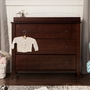 DaVinci Highland 3 Drawer Changer Dresser in Espresso