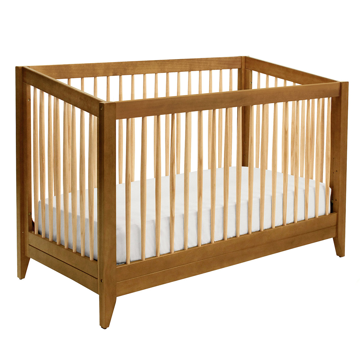 Best baby cribs for apartments - Davinci Highland Crib In Chestnut Ships Free At Simply Baby Furniture