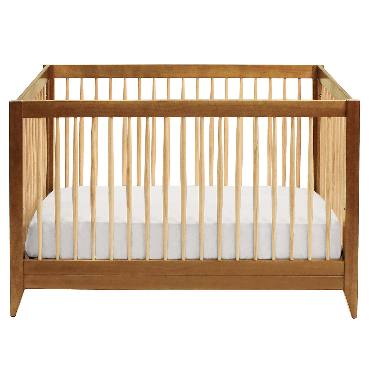 davinci highland crib in chestnut ships free at simply baby furniture