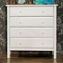 DaVinci Jayden 4 Drawer Dresser in White