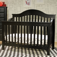 DaVinci Jayden 4 in 1 Convertible Crib in Ebony