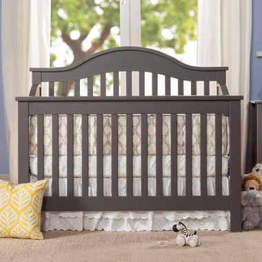 DaVinci Jayden 4 In 1 Convertible Crib In Slate   Click To Enlarge