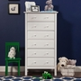 DaVinci Jayden 6 Drawer Dresser in White