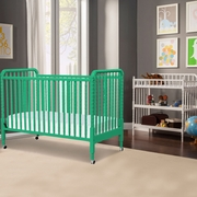 DaVinci Jenny Lind 2 Piece Nursery Set - 3 in 1 Convertible Crib and Changing Table in Emerald