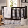 DaVinci Jenny Lind 3 in 1 Convertible Crib in Ebony