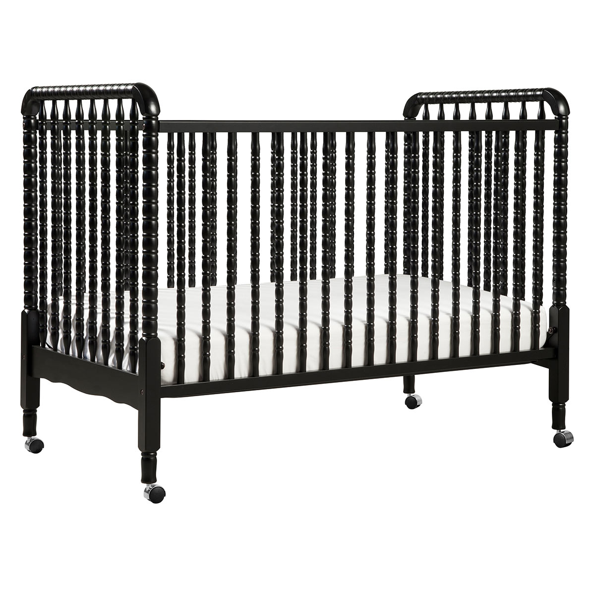 Contemporary white wooden jenny lind crib for your baby to sleep - Contemporary White Wooden Jenny Lind Crib For Your Baby To Sleep 32