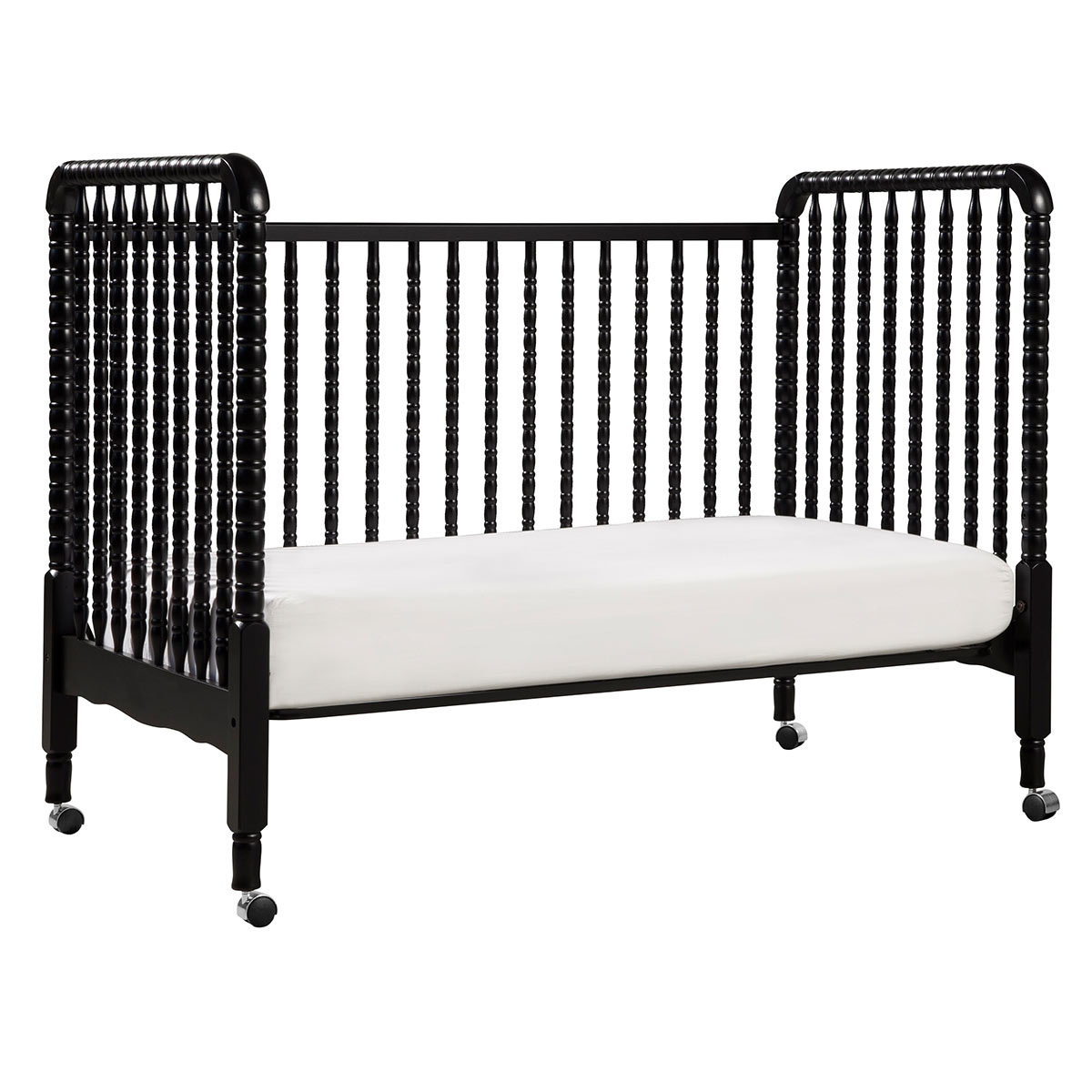 Contemporary white wooden jenny lind crib for your baby to sleep - Contemporary White Wooden Jenny Lind Crib For Your Baby To Sleep 59