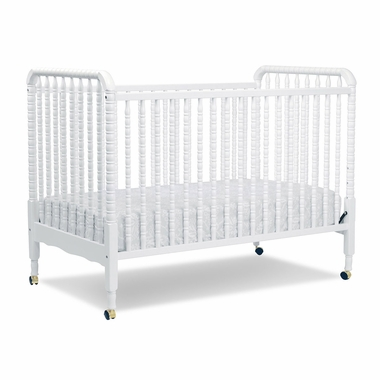 Davinci Jenny Lind 3 In 1 Convertible Crib In White M7391w