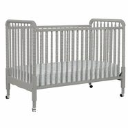 DaVinci Jenny Lind 3-in-1 Convertible Crib in Grey