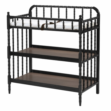 DaVinci Jenny Lind Changing Table in Black - Click to enlarge