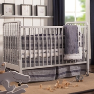 DaVinci Jenny Lind Stationary Crib in Fog Grey