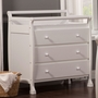 DaVinci Kalani 3 Drawer Changer in White
