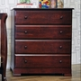 DaVinci Kalani 4 Drawer Dresser in Cherry