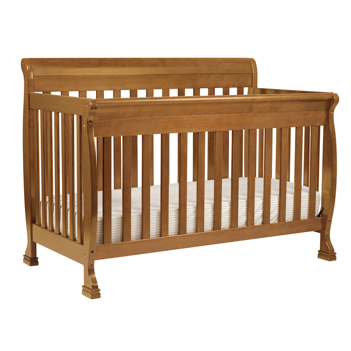 Amish crib for sale - Davinci 2 Piece Nursery Set Kalani 4 In 1 Convertible Crib And Combo Dresser In Chestnut Free Shipping