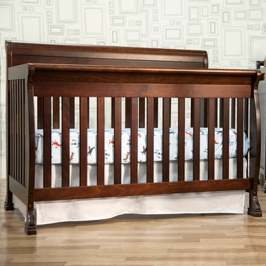 DaVinci Kalani 4 in 1 Convertible Crib in Espresso - Click to enlarge