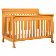 DaVinci Kalani 4 in 1 Convertible Crib in Honey Oak