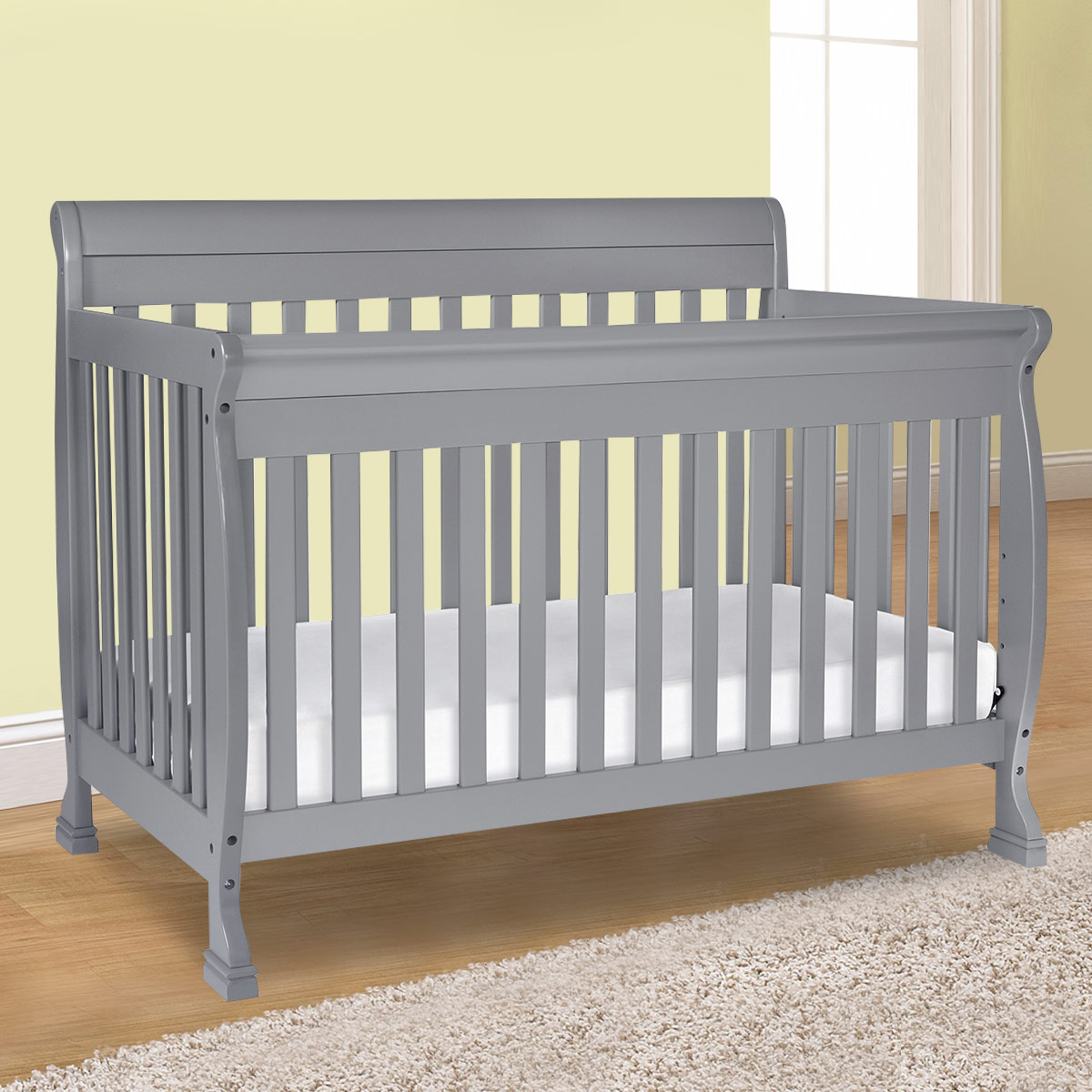 davinci kalani 4-in-1 convertible crib with toddler bed conversion