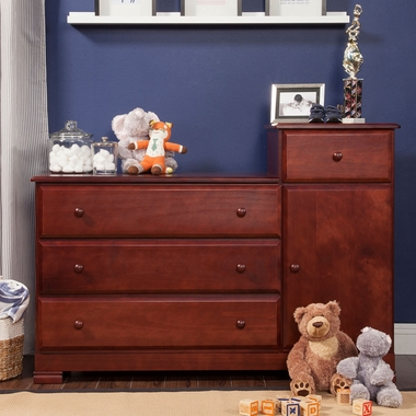 DaVinci Kalani Combo Changer/Dresser in Cherry - Click to enlarge