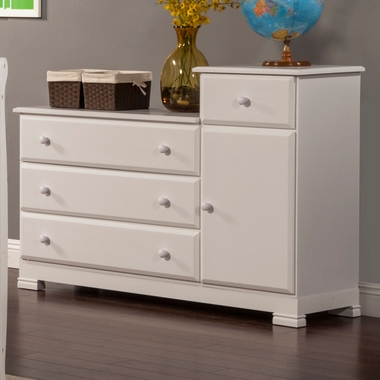 Davinci Kalani Combo Changer Dresser In White Click To Enlarge