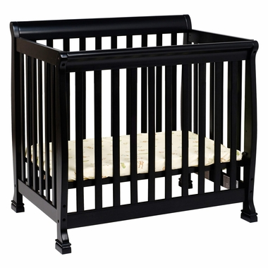 Davinci Kalani Mini Crib Ebony Simply Baby Furniture