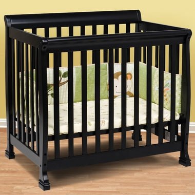 DaVinci Kalani Mini Crib in Ebony - Click to enlarge