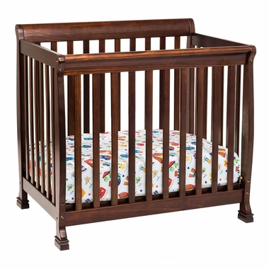 DaVinci Kalani Mini Crib in Espresso - Click to enlarge