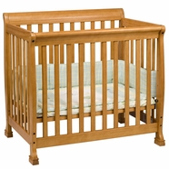 DaVinci Kalani Mini Crib in Honey Oak