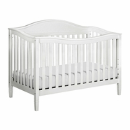 DaVinci Laurel Convertible Crib in White